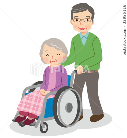 Care parent and child elderly person 32986116