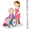 nursing, helper, Wheel Chair 32986288