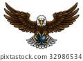 Eagle Bowling Sports Mascot 32986534