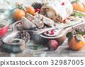 Christmas German stollen 32987005