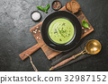Broccoli cream soup 32987152