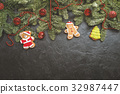 Christmas or New Year background 32987447