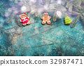 Christmas or New Year background 32987471