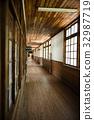 學校建築 木製校舍 厚木板 32987719