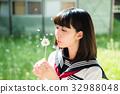 高中生 高中女生 蒲公英 32988048
