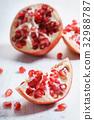 石榴 水果 果汁 32988787