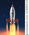 发射 火箭 金属 32989410