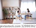 식사, 식탁, 테이블 32990362