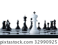 Chess business concept 32990925