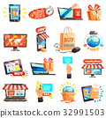 Online Store Icons Collection 32991503