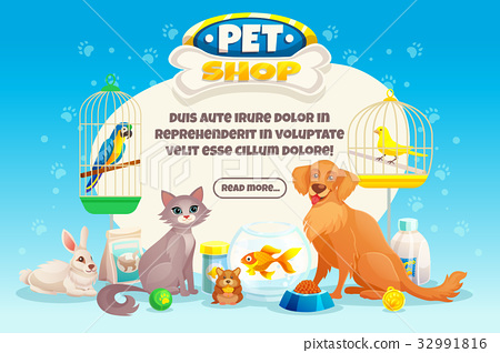 Pet Shop Composition 32991816