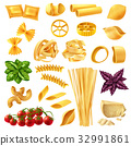 Pasta Realistic Set 32991861
