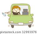 塑料瓶 扔掉 汽車 32993976