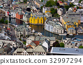 alesund, town, norway 32997294