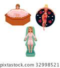 spa, woman, vector 32998521