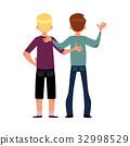 男孩 友谊 朋友 32998529