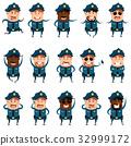 警察 男性 男人 32999172