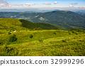 mountain, grassy, hillside 32999296