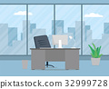 work, vector, office 32999728
