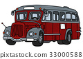 Old red bus 33000588