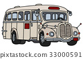 Old cream bus 33000591