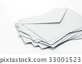 Stacking of  envelopes and mail letter paper 33001523