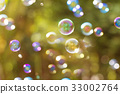 Dreamy Abstract background from soap bubble 33002764