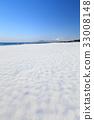 雪の弓ヶ浜展望台 -大山・美保湾を一望できるのビューポイント- 33008148