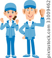 blue collar worker, laborer, motivated 33009462