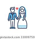 新娘 夫婦 一對 33009750