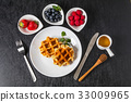 華夫餅 比利時華夫餅 烘培食品 33009965