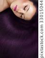 girl with beautiful long hair 33015044