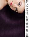 girl with beautiful long hair 33015070
