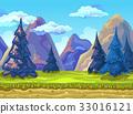 Landscape, Vector illustration 33016121