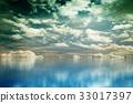 푸른, 바다, 구름 33017397