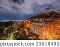清水寺照亮了秋天 33018493