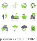 icon, eco, vector 33019023