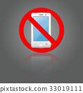 No phone sign 33019111