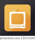 tv, vector, television 33019169