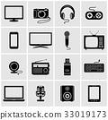 vector, tv, laptop 33019173