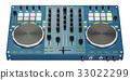 DJ Console, 3D rendering 33022299