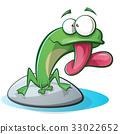青蛙 动物 矢量 33022652