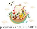 七福神Fukunami寶船 33024010