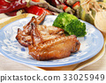 Grilled chicken wing 33025949