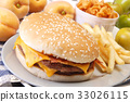 Cheese burger 33026115