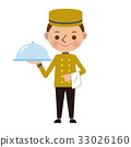 bell boy, bellhop, hotel man 33026160