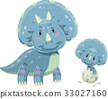 Dino Triceratops Baby 33027160