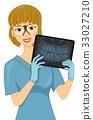 Girl Dentist X-ray Teeth 33027210
