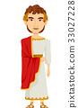 Man Roman Emperor Costume 33027228