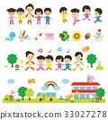 보육원 유치원 어린이 세트 33027278
